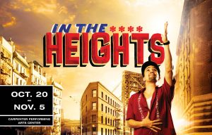 In The Heights @ carpenter Performing Arts Center