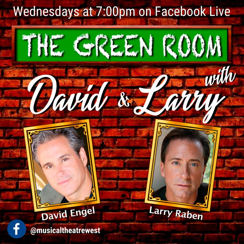 Hump Day is now The Green Room with David & Larry
