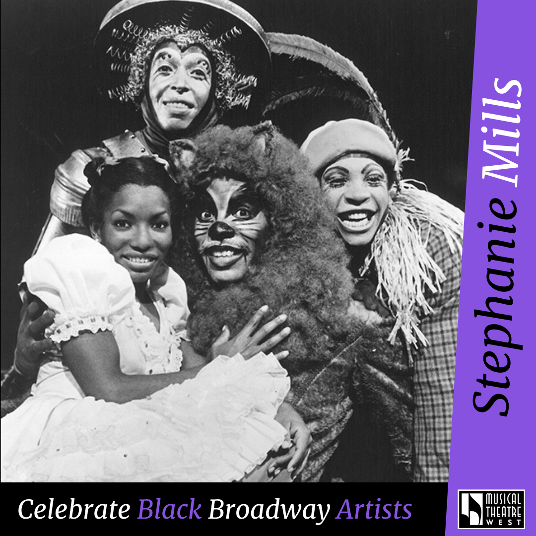 Stephanie Mills in The Wiz