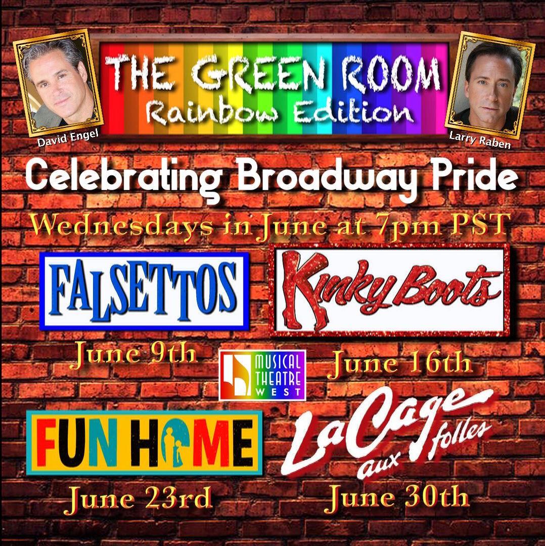 Green Room Broadway PrideGreen Room Broadway Pride