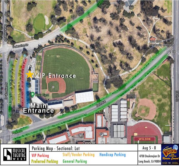 Plaid Parking Map